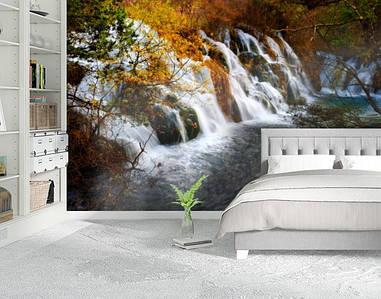 Фотообои бумажные гладь, Водопады, 200х310 см, fo01inB_pr10900
