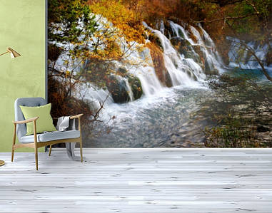 Фотообои текстурированные, виниловые Водопады, 250х380 см, fo01inV_pr10900