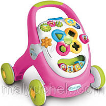 Развивающий учебно игровой центр Ходунки каталка Walk&Play Smoby 110304