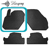 VOLVO S60 2010- Водительский коврик Черный в салон