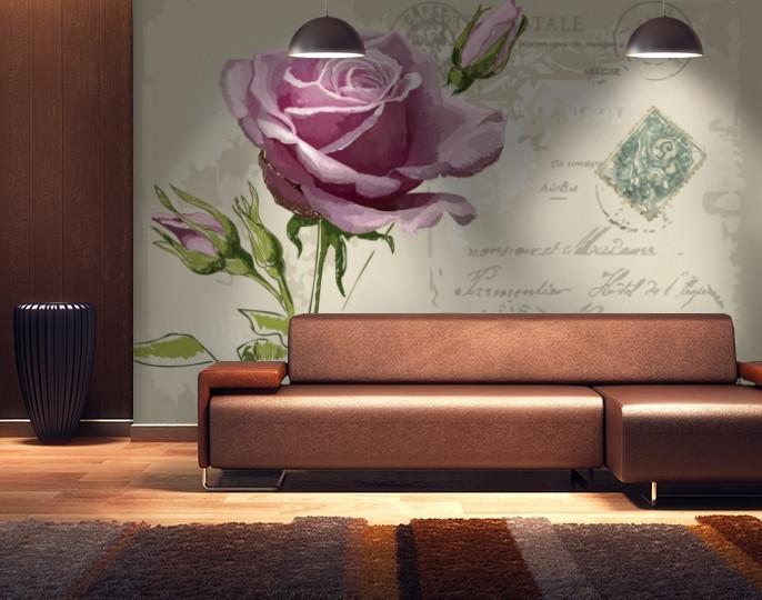 Фотообои текстурированные, виниловые Цветы, 250х380 см, fo01inV_fl11231