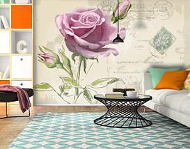 Фотообои текстурированные, виниловые Цветы, 250х380 см, fo01inV_fl11231, фото 3