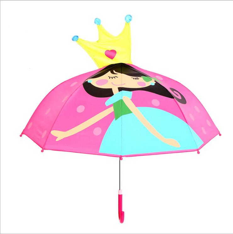 """Детский зонтик 3D ушки """"Принцесса"""""""