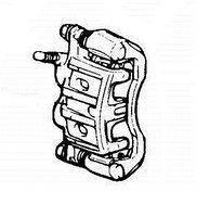 Передний тормозной суппорт