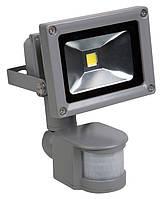 Светодиодный прожектор 10 Вт. Standart + датчик движения и освещения