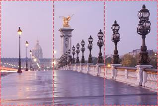 Фотошпалери текстуровані, вінілові Мости, 250х380 см, fo01inV_ar10269, фото 2