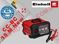 Пуско-зарядное устройство для аккумулятора авто  Einhell CC-BC 15 M (Германия)
