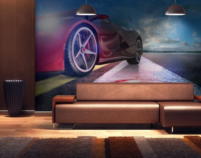 Фотообои текстурированные, виниловые Авто мир, 250х380 см, fo01inV_av11266