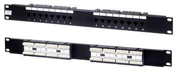 PP2-168  Патч-панель 19» 16 портов UTP, RJ-45, тип 110
