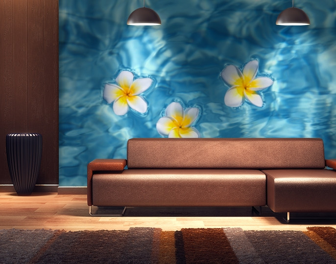 Фотообои текстурированные, виниловые Цветы, 250х380 см, fo01inV_fl12957