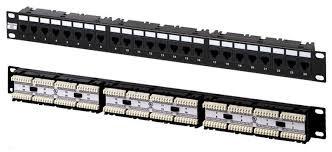 NSP-24  Патч-панель 19» 24 порта UTP, категория 5e