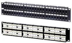 NSP-48 Патч-панель 19» 48 портів UTP, RJ-45, категорія 5e