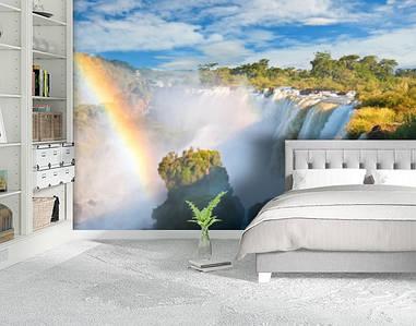 Фотообои бумажные гладь, Водопады, 200х310 см, fo01inB_wf00356