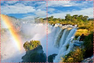 Фотообои бумажные гладь, Водопады, 200х310 см, fo01inB_wf00356, фото 2