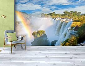 Фотообои бумажные гладь, Водопады, 200х310 см, fo01inB_wf00356, фото 3