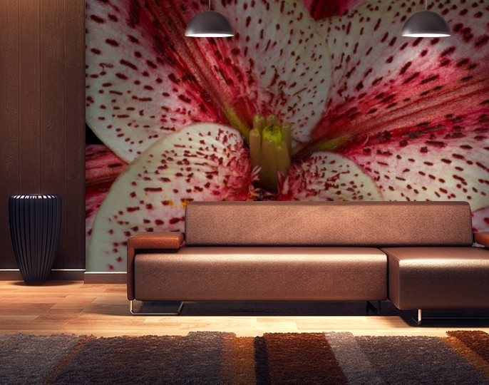 Фотообои текстурированные, виниловые Цветы, 250х380 см, fo01inV_fl101107
