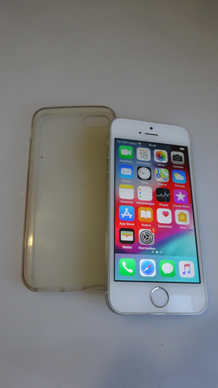 IPhone SE 16gb золото отличное состояние №2205
