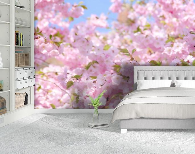Фотообои текстурированные, виниловые Цветы, 250х380 см, fo01inV_fl12023