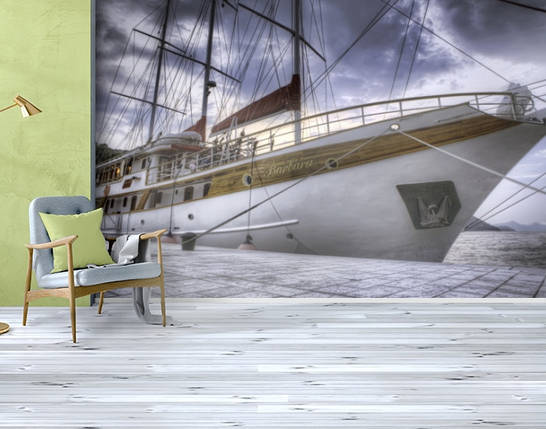 Фотообои бумажные гладь, Корабли, 200х310 см, fo01inB_av11456, фото 2