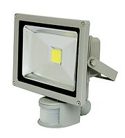 Светодиодный прожектор 20 Вт. Standart + датчик движения и освещения