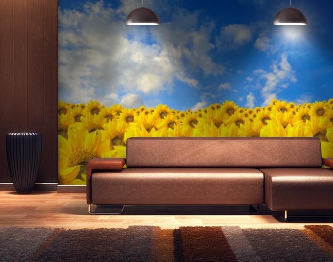 Фотообои бумажные гладь, Цветы, 200х310 см, fo01inB_fl12765