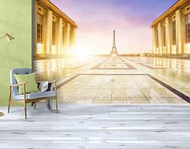 Фотообои бумажные гладь, Эйфелева башня, 200х310 см, fo01inB_ar10219, фото 3
