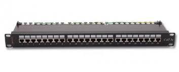 NSP-24В  Патч-панель 19» 24 порта STP, экранированная