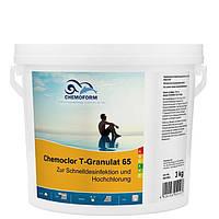 Хлор шок Chemoform Chemochlor-T-Granulat 65 (гранулят) - 3 кг