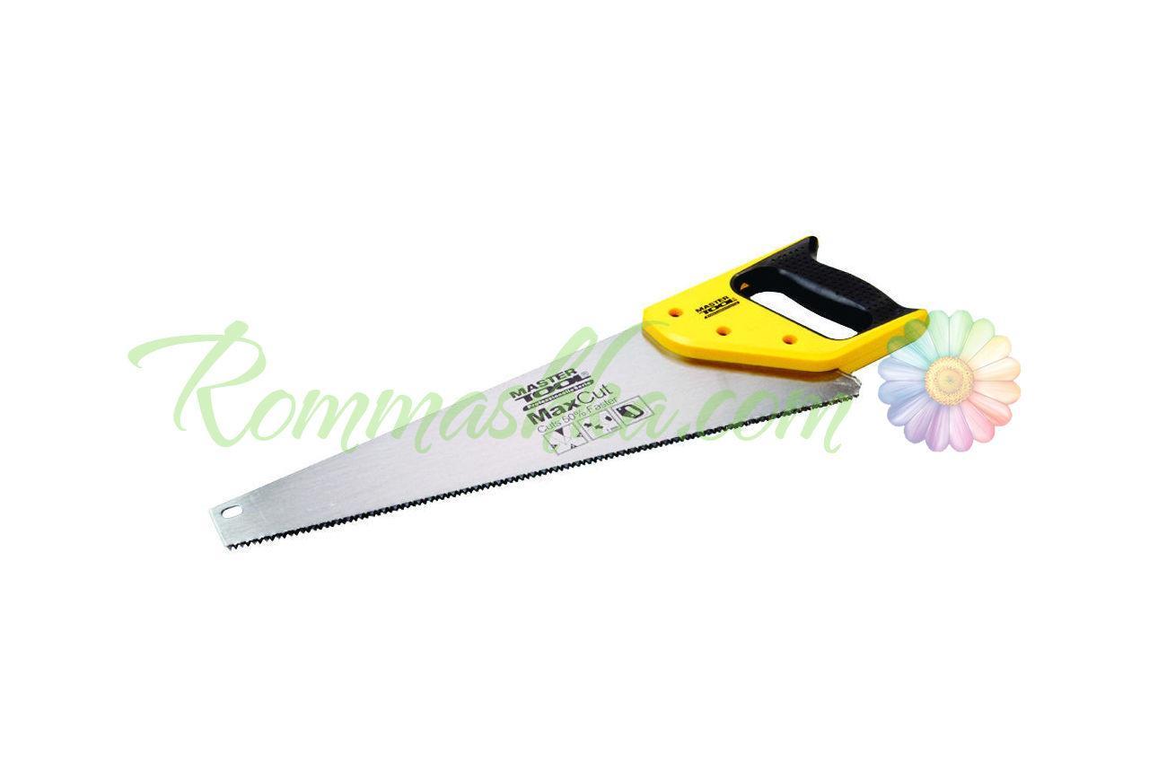 """Ножовка по дереву Mastertool - 400 мм, 7T x 1"""" x 3D широкая"""