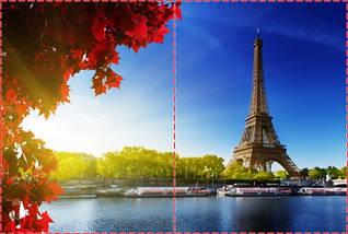 Фотообои бумажные гладь, Эйфелева башня, 200х310 см, fo01inB_ar10346, фото 2