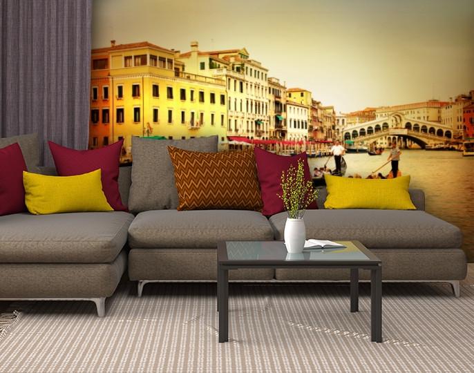 Фотообои текстурированные, виниловые Венеция, 250х380 см, fo01inV_gd10412