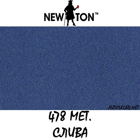 Краска аэрозольная в баллоне авто металлик New Ton 478 Слива 400мл, фото 2