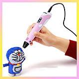 3D pen для детей 3д ручка MyRiwell + наклейки в подарок, фото 2