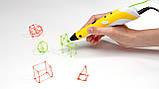 3D pen для детей 3д ручка MyRiwell + наклейки в подарок, фото 6