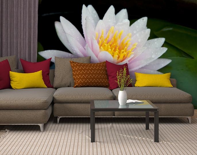 Фотообои текстурированные, виниловые Цветы, 250х380 см, fo01inV_fl10853