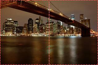 Фотообои бумажные гладь, Мосты, 200х310 см, fo01inB_br00136, фото 2