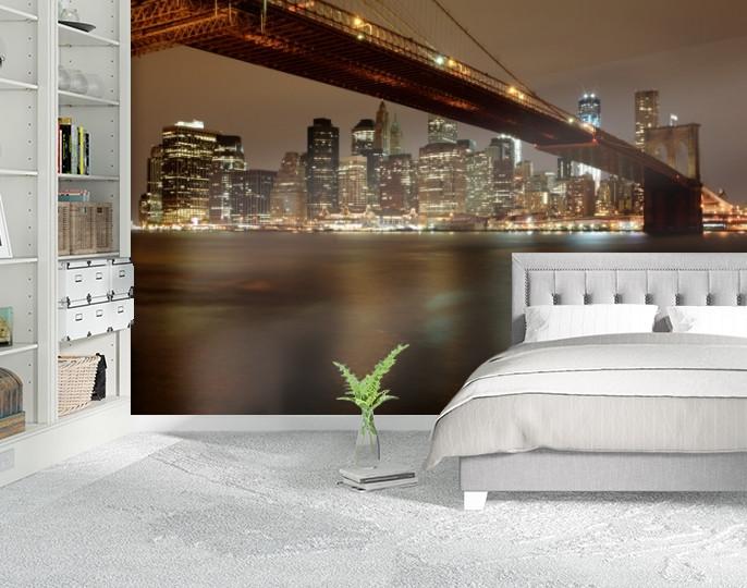 Фотообои текстурированные, виниловые Мосты, 250х380 см, fo01inV_br00136