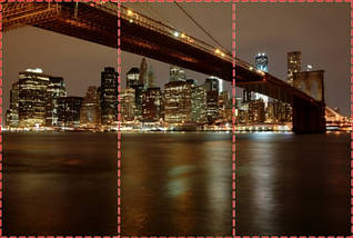Фотообои текстурированные, виниловые Мосты, 250х380 см, fo01inV_br00136, фото 2