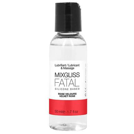 Лубрикант на силиконовой основе MixGliss FATAL VALVET ROSE, 50 мл , фото 2