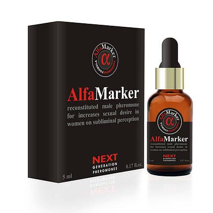 Ароматная эссенция с феромонами для мужчин AlfaMarker for Men, 5 мл , фото 2