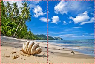 Фотообои бумажные гладь, Море, 200х310 см, fo01inB_mp11017, фото 2