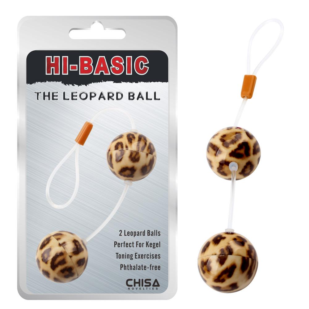 Вагинальные шарики Leopard Ball, 3,4 см