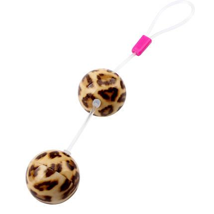 Вагинальные шарики Leopard Ball, 3,4 см , фото 2