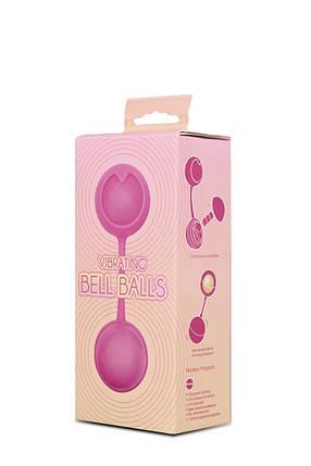 Вагинальные шарики Vibrating Bell Balls Window Box, 3 см, фото 2
