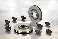 Тормозные диски на Volkswagen фольксваген Golf, Passat, Transporter, Caddy, Jetta , Polo, Bora, Touareg, Toura
