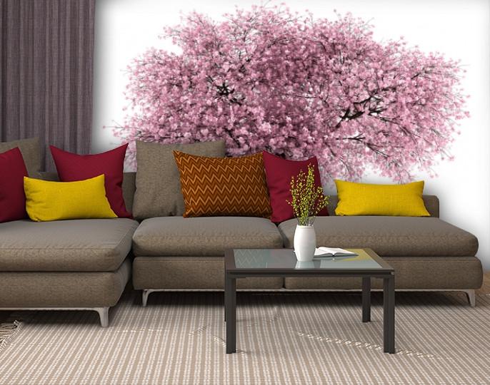 Фотообои текстурированные, виниловые Цветы, 250х380 см, fo01inV_fl13397