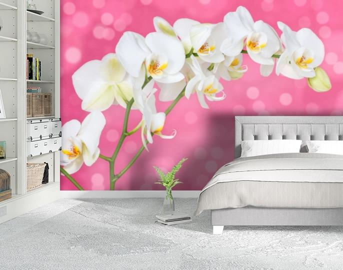 Фотообои текстурированные, виниловые Цветы, 250х380 см, fo01inV_fl101953