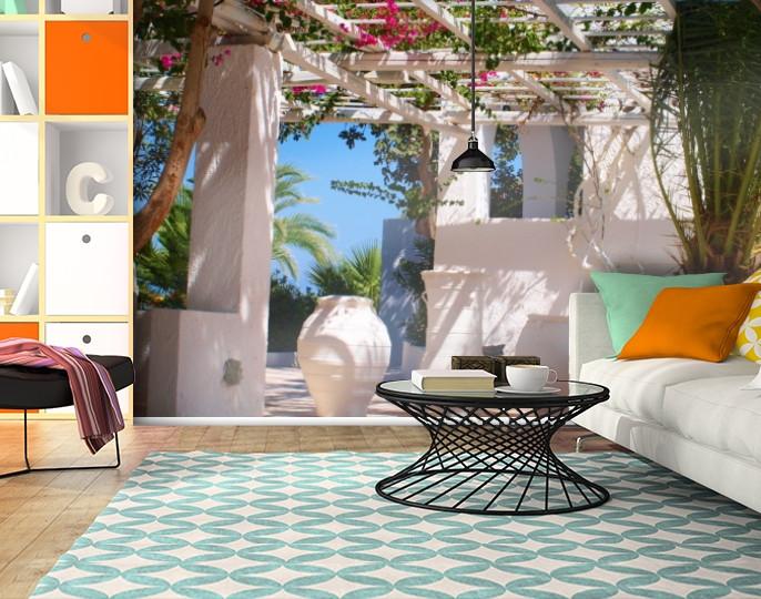 Фотообои текстурированные, виниловые Архитектура, 250х380 см, fo01inV_ar12391
