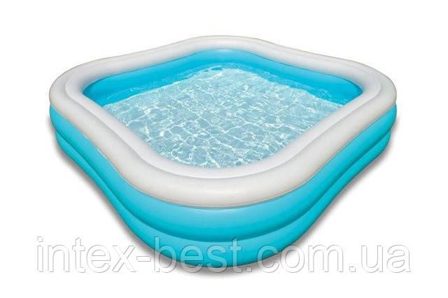 Детский надувной бассейн Intex 57495 (229х229х56 см.), фото 2