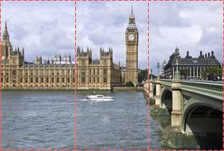 Фотообои текстурированные, виниловые Биг-Бен, 250х380 см, fo01inV_bb00007, фото 2